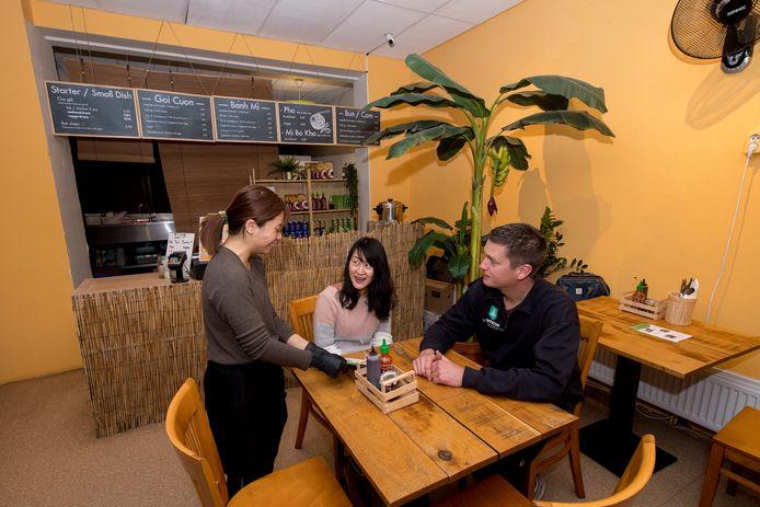 Vietnamees restaurant Xin Chao in Wageningen.