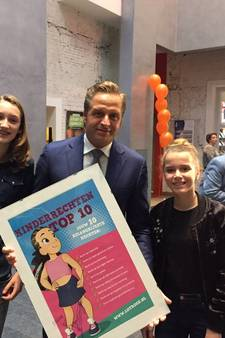 Harderwijkse Annelique (13) wil dat kinderen zich thuis veilig kunnen voelen