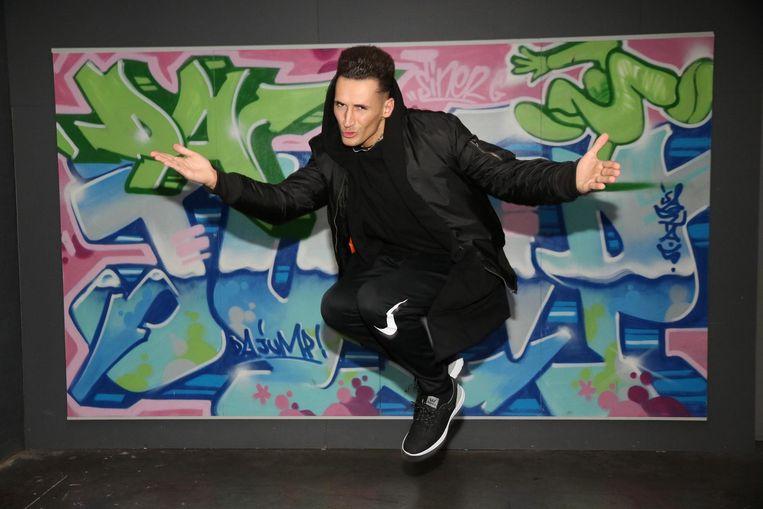 Danser en choreograaf, Sinerjey Meyfroodt.