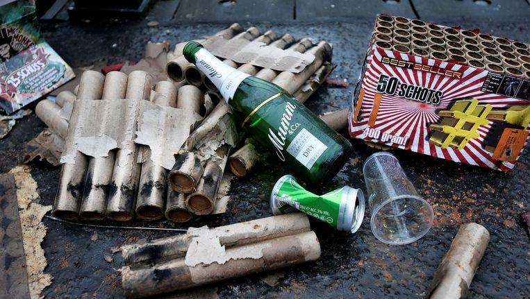 Het meldpunt vuurwerkoverlast heeft rond de jaarwisseling 45.000 meldingen gekregen over vuurwerkoverlast, het laagste aantal in vijf jaar. Beeld anp