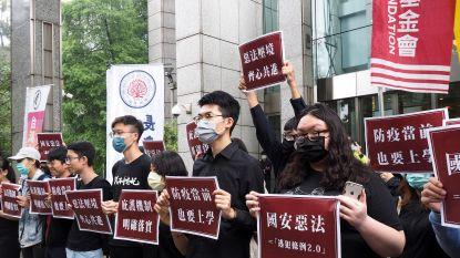 Parlementsvoorzitter China noemt militair ingrijpen in Taiwan optie