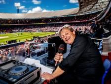 Ook voor de stadionspeakers van Ajax, FC Emmen en Feyenoord zit het seizoen erop