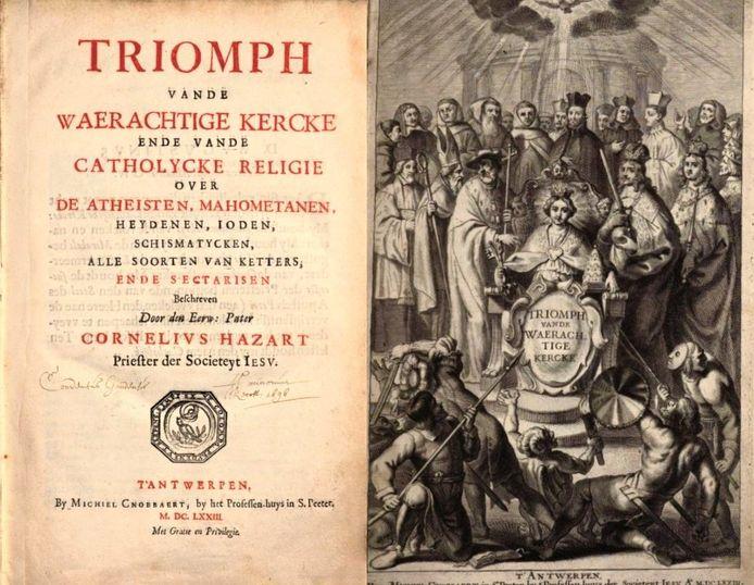 Enkele pagina's in het boek uit 1673