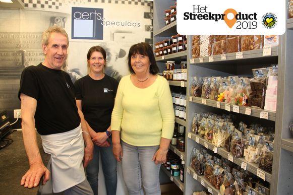 Els Aerts, de vierde generatie in het familiebedrijf, kan nog steeds op de hulp van haar moeder Ria en vader Erik rekenen.