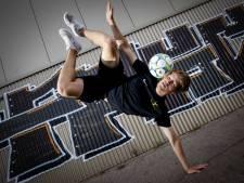 Jesse (22) uit Amersfoort is wereldkampioen freestyle voetbal