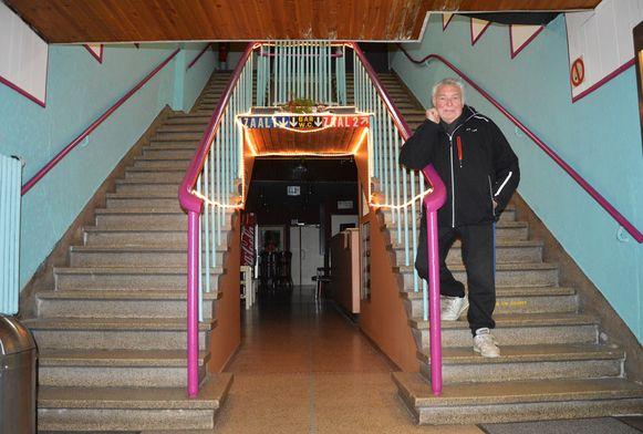 De trap van Cinema Central is nog de originele.
