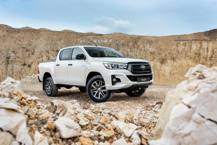 Toyota blijft ook de Hilux pick-up leveren