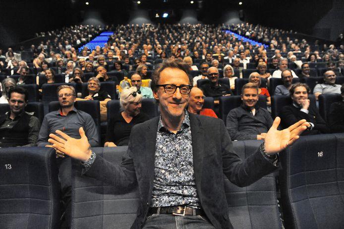 Jan Doense in september tijdens de eerste editie van Film by the Sea onder zijn leiding.