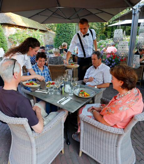 Gulle gerechten in mediterrane sfeer