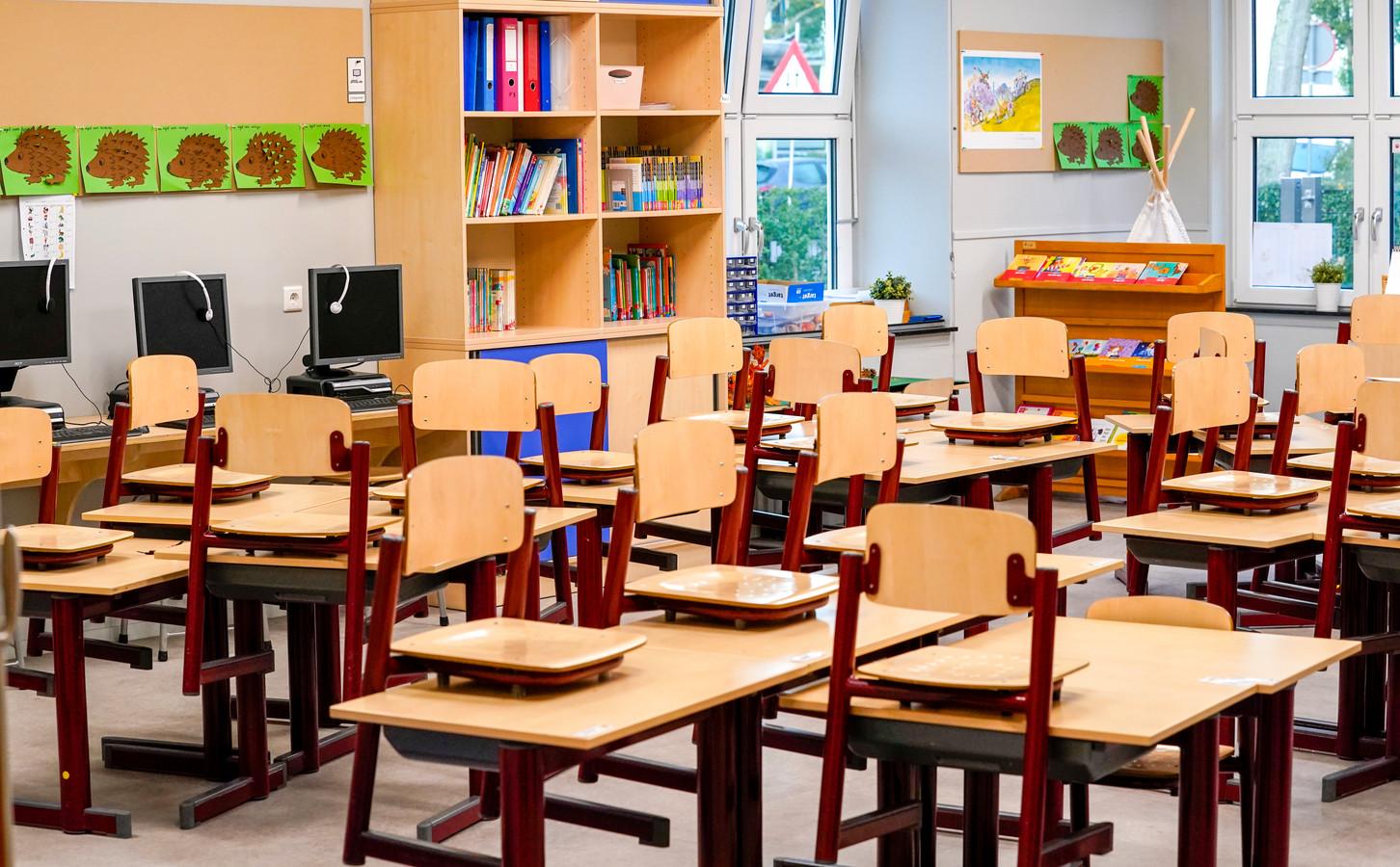 Zestien Amsterdamse basisscholen geven volgende week geen les.