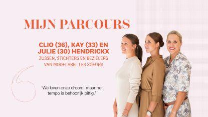 """Het hobbelige pad naar succes van bezielers van modelabel Les Soeurs: """"We leven onze droom, maar het tempo is behoorlijk pittig"""""""