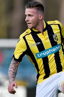 Treffer Büttner te weinig voor Jong Vitesse