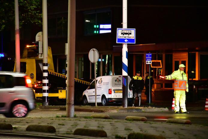 Wegen naar de Haagse binnenstad werden vanochtend afgesloten met vrachtwagens vanwege de boerendemonstratie op het Malieveld vandaag.