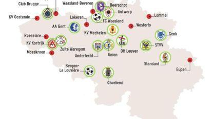 """Na faillissement Lokeren telt België nog 23 profclubs, maar... """"Dat zijn er nóg zeven te veel"""""""