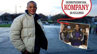 Yvon heeft sterretjes gezien met Vince: de eerste keer van Vincent Kompany op de sportcover van HLN