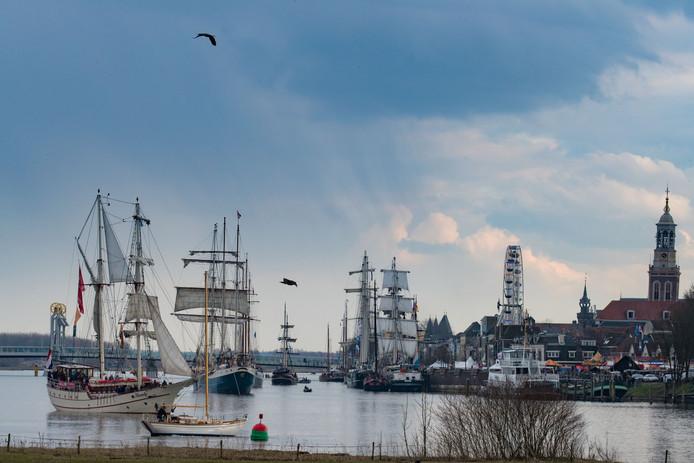 Sail Kampen was een van de projecten die vorig jaar steun kreeg uit het Cultuurfonds Kampen: 7.500 euro.