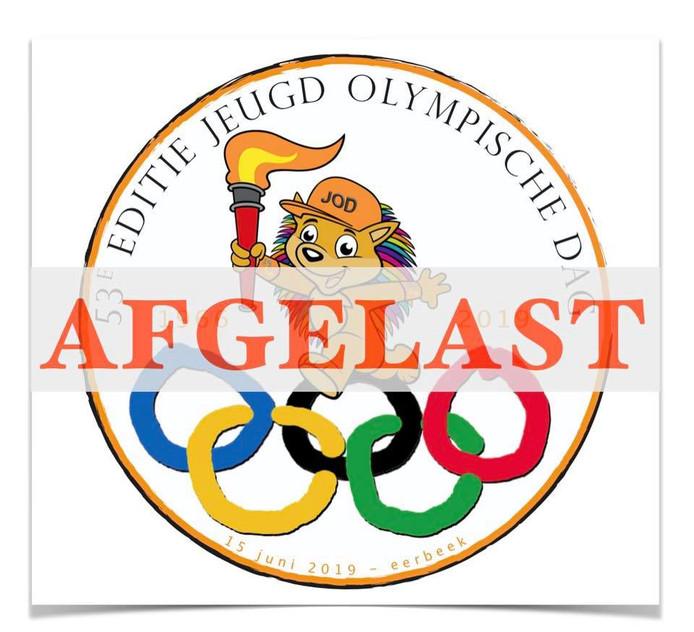 De 53ste editie van de Jeugd Olympische Dag gaat niet door.
