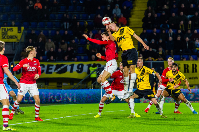 17-01-2020: Voetbal: NAC Breda v Jong AZ: Breda L-R NAC Breda player Jan-Paul van Hecke Soccer Keuken Kampioen Competitie season 2019-2020