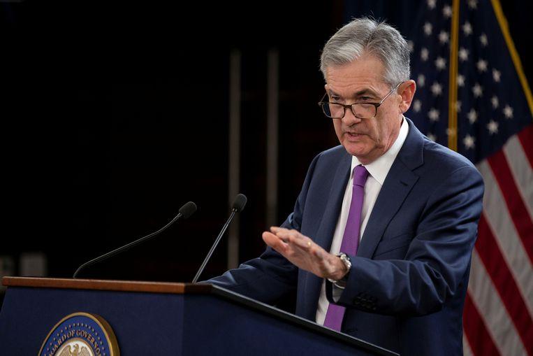 Jerome Powell,  voorzitter van de Federal Reserve.