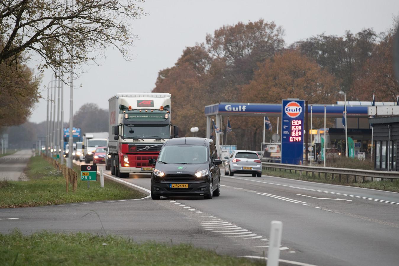 Rijkswaterstaat gaat vijf weken lang flink aan de slag op de N35 en enkele parallelwegen.
