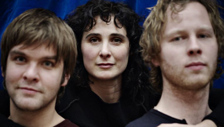 V.l.n.r.: Steyn de Leeuwe, Tamar van den Dop en Chiem Vreeken. Foto Merlijn Doomernik Beeld