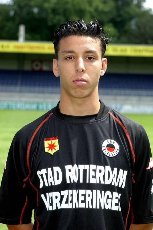 Mounir El Hamdaoui in het seizoen 2002-2003