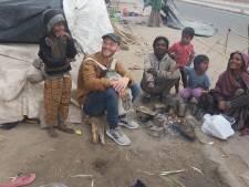 Inzamelingsactie Enschedeër via tocht door India: 'Naakte kinderen slapen hier tussen varkens en apen'
