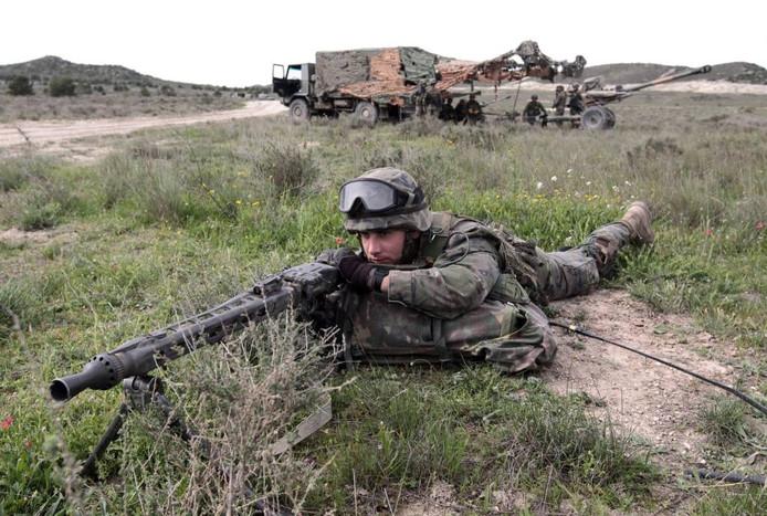 De NAVO moet afzien van provocerende oefeningen. foto Javier Cebollada/epa
