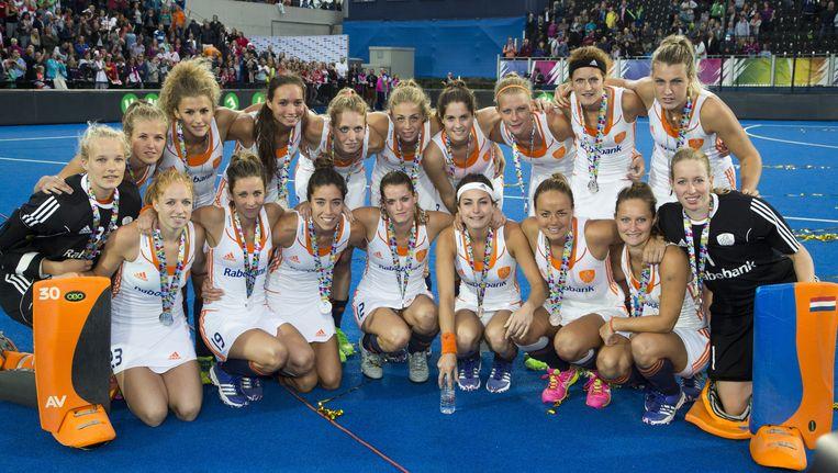Archieffoto: De Nederlandse hockeyploeg. Beeld anp