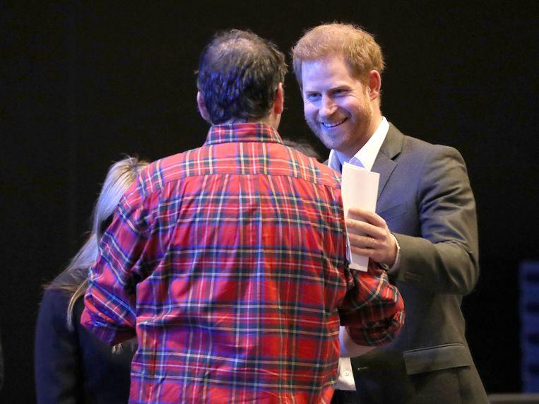 Prins Harry was woensdagmiddag aanwezig op een conferentie voor milieuvriendelijke reisinitiatieven.