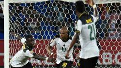 Ghana (met Acheampong) en Egypte laatste halvefinalisten Africa Cup