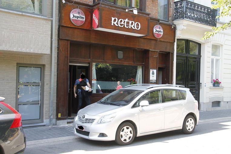 Het café werd vorige week nog onderzocht door de politie in het kader van een grote drugszaak.