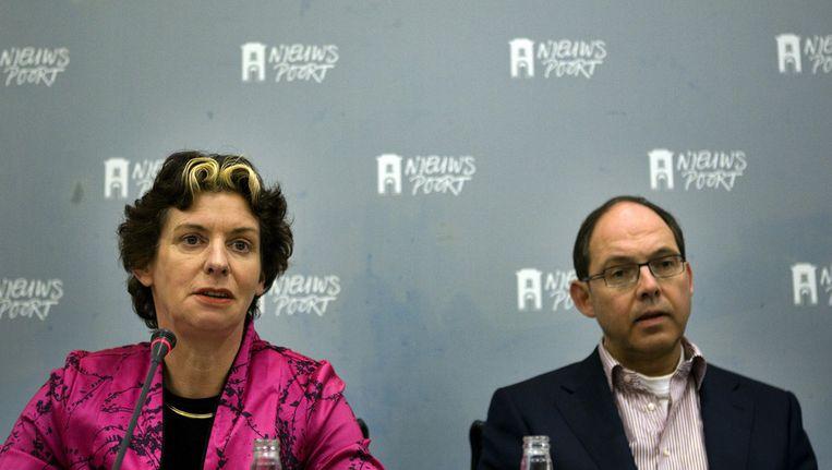 Verburg (l) en Klink in 2010. Beeld ANP