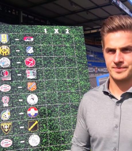 Dit zijn de voorspellingen van Willem II-aanvoerder Peters: 'Hele belangrijke wedstrijd voor ons'