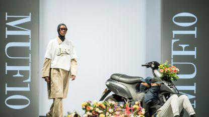 Deense streetwear-ontwerper protesteert tegen boerkaverbod op Copenhagen Fashion Week