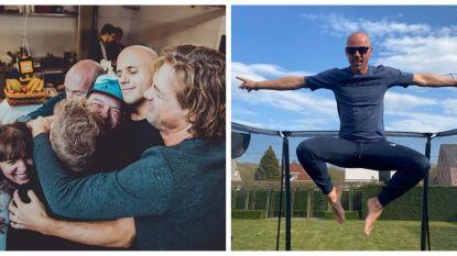 SHOWBITS. Knuffelen met Milow en trampolinespringen met Sven Nys