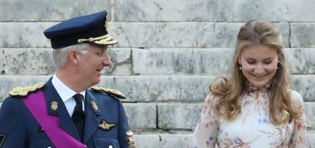 Les festivités pour les 18 ans de la princesse Elisabeth diffusées en direct