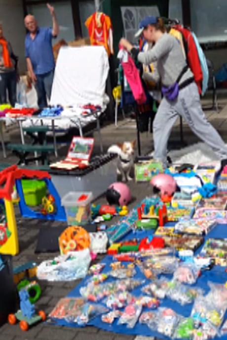 Poffertjes en schilderijen op rommelmarkt Terneuzen