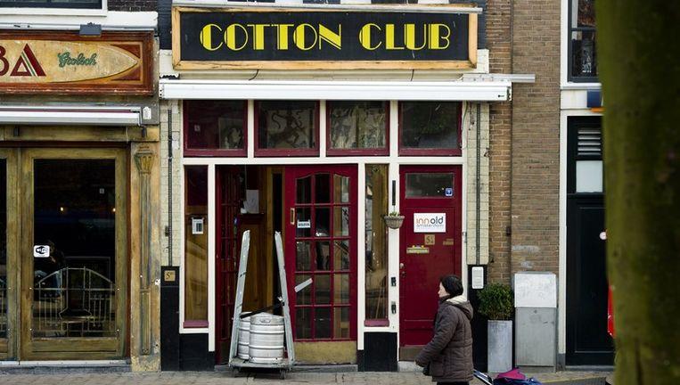 The Cotton Club op de Nieuwmarkt in Amsterdam. Beeld anp