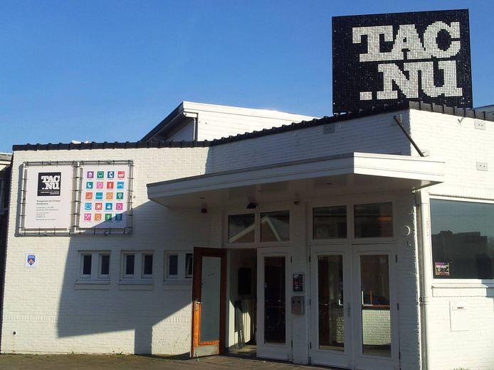 De entree van het Temporary Art Centre in Eindhoven.