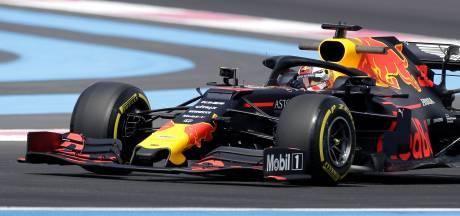 Verstappen vierde na schuiver, Mercedes opnieuw het snelst