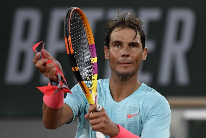 Rafael Nadal après sa victoire contre Egor Gerasimov ce lundi 28 septembre