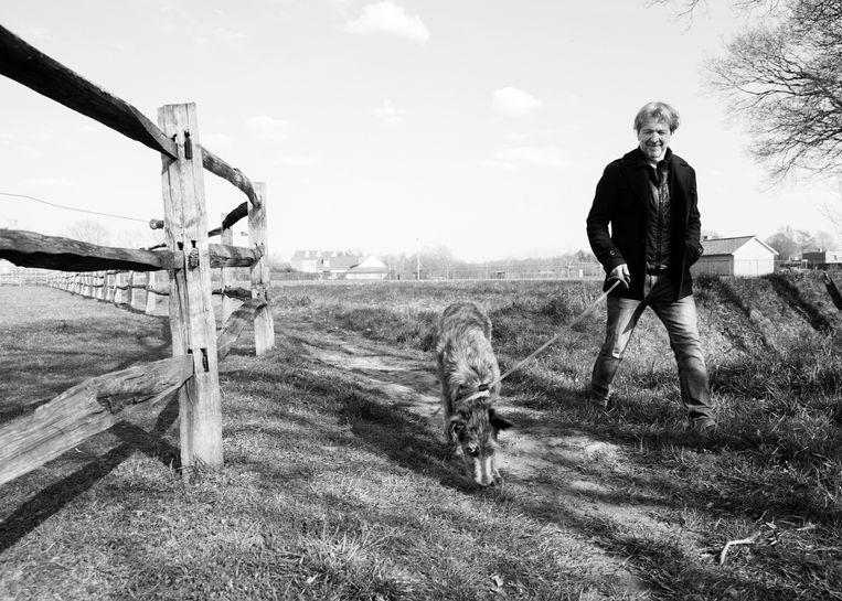 Lucas Van den Eynde: 'Mijn moeder vond het stiekem wel spannend, een 'artiest' in de familie.' Beeld Jef Jacobs