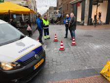 Wankelende Blauwe Steen legt busverkeer centrum Nijmegen plat