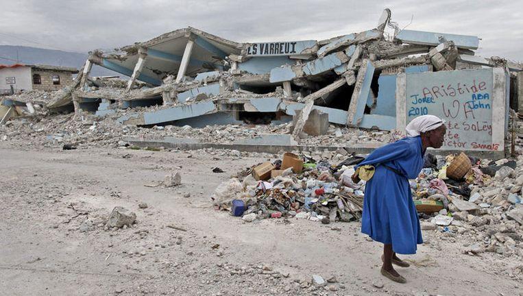 Port-au-Prince, 19 januari. Foto EPA Beeld