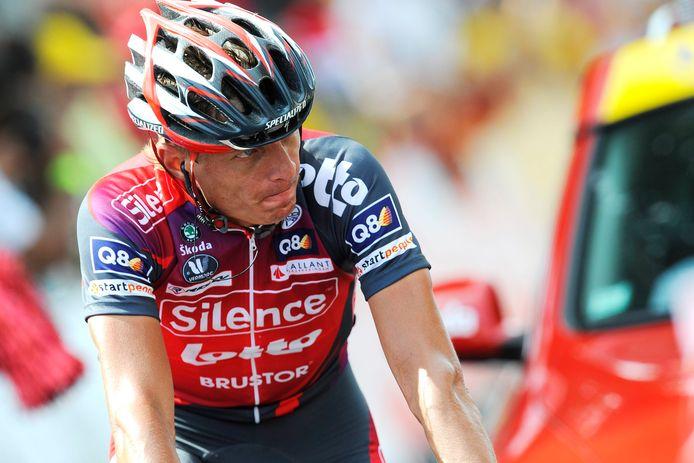Wim Vansevenant knapte in de Tour vaak het werk op in dienst van de kopmannen van de Lotto-ploeg.