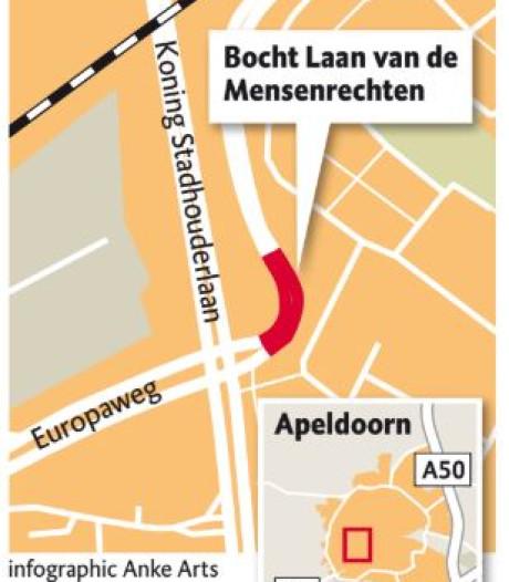 'Sensatiebocht' in Apeldoorn garantie voor ongelukken