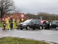Drie auto's betrokken bij aanrijding in Fleringen