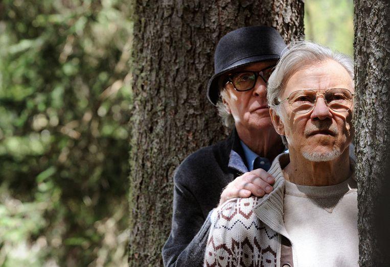 Michael Caine en Harvey Keitel in Youth van Paolo Sorrentino Beeld