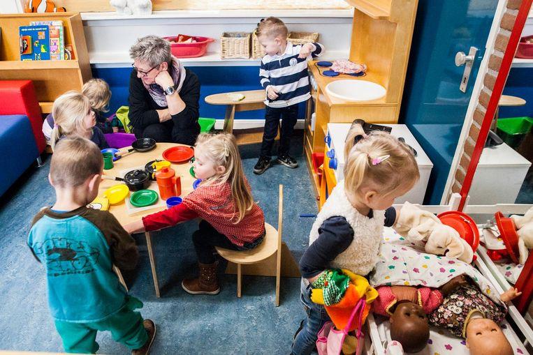 J. Bonacic: 'Er zijn veel kinderen die helemaal geen achterstand hebben, maar toch gedwongen naar een voorschool moeten.' Beeld Aurélie Geurts / de Volkskrant